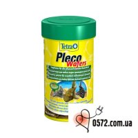 Основной корм для травоядных сомиков Tetra Pleco Wafer 100ml